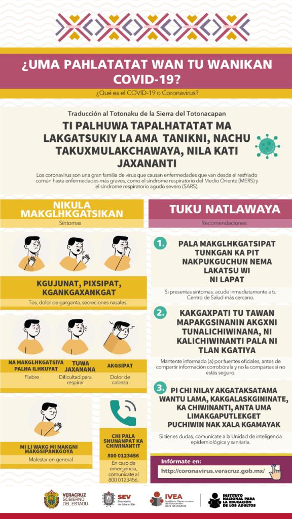 Coronavirus-Totonacapan