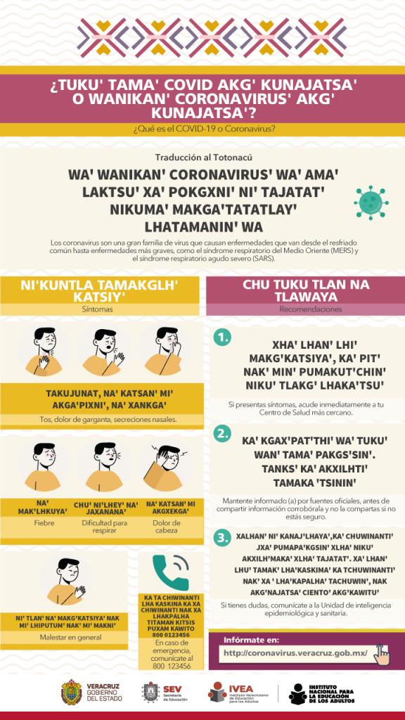 Coronavirus-Totonacu
